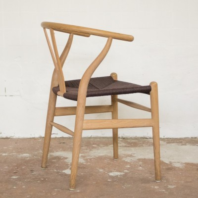 6 Wishbone dinner chairs from the fifties by Hans Wegner for Carl Hansen & Son