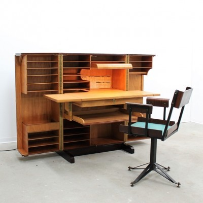 Writing desk from the twenties by unknown designer for unknown producer