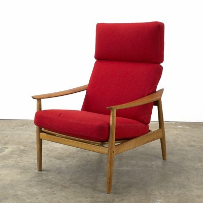 FD-164 lounge chair from the sixties by Arne Vodder for Cado