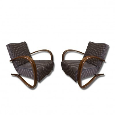 Set of 2 H-269 arm chairs from the thirties by Jindřich Halabala for UP Závody