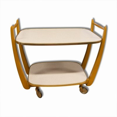 Serving trolley from the fifties by unknown designer for unknown producer
