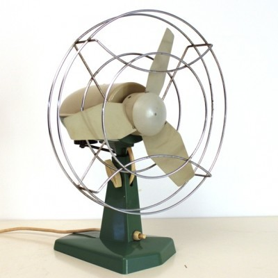 Table Fan from the sixties by unknown designer for Indola