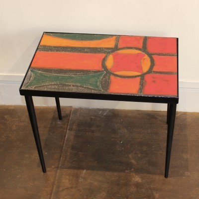 Coffee table from the fifties by unknown designer for unknown producer