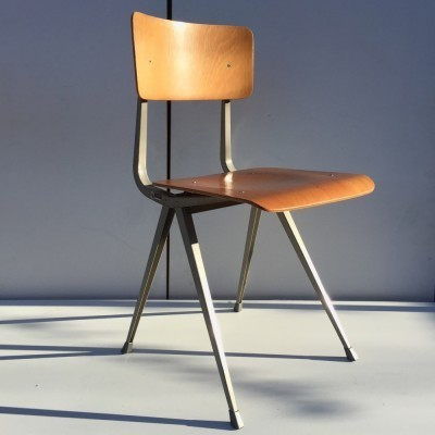 5 Result dinner chairs from the sixties by Friso Kramer for Ahrend de Cirkel