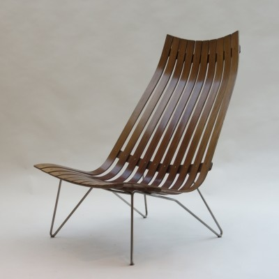 Skandia lounge chair from the sixties by Hans Brattrud for Hove Möbler