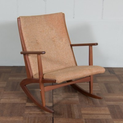 Boomerang rocking chair from the fifties by Georg Jensen for Tønder Møbelfabrik