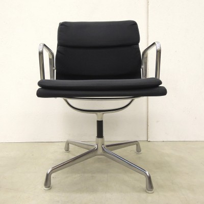 10 EA208 office chairs from the fifties by Charles & Ray Eames for Vitra