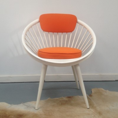 Circle lounge chair from the sixties by Yngve Ekström for Swede Möbler