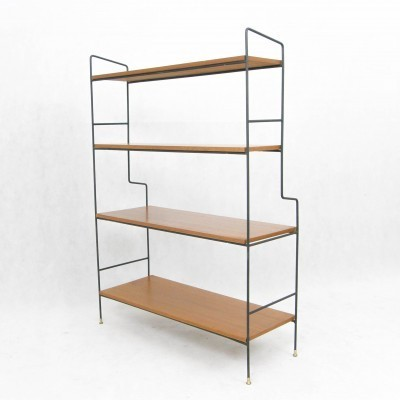Freestanding Bookshelf cabinet from the fifties by unknown designer for unknown producer