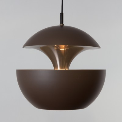 12 Springfontein (Fontaine Jaillissante) hanging lamps from the seventies by Bertrand Balas for Raak Amsterdam