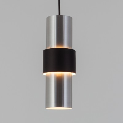 8 B-1198 hanging lamps from the sixties by unknown designer for Raak Amsterdam
