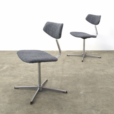 Set of 2 office chairs from the seventies by Geoffrey Harcourt for Artifort