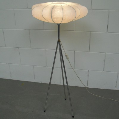 Cocoon floor lamp from the sixties by unknown designer for unknown producer