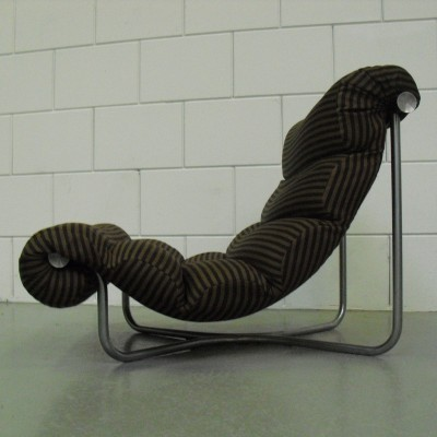 Glasgow lounge chair from the sixties by Georges Van Rijck for Beaufort
