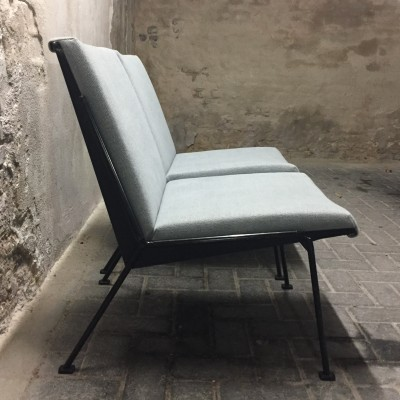 2 Oase lounge chairs from the sixties by Wim Rietveld for Ahrend de Cirkel