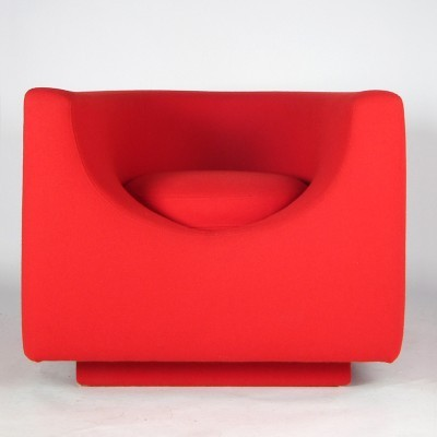 Elliptic lounge chair by Saporiti, 1960s