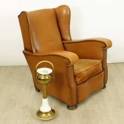 Lounge chair from the thirties by unknown designer for unknown producer