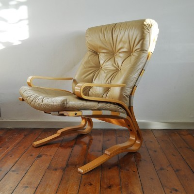 2 lounge chairs from the seventies by Oddvin Rykken for Rykken & Co