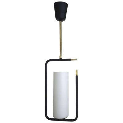 Hanging lamp from the fifties by unknown designer for Maison Arlus