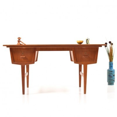 Multi-desk For 2 Persons writing desk from the sixties by unknown designer for unknown producer