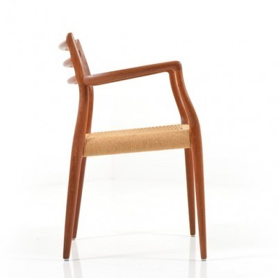 Model 64 arm chair from the sixties by Niels Otto Møller for JL Møller Møbelfabrik