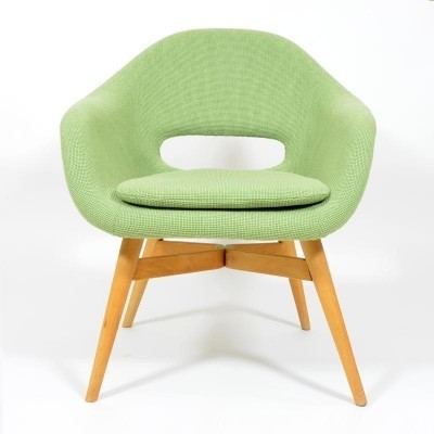 2 arm chairs from the sixties by František Jirák for unknown producer