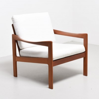 3 lounge chairs from the fifties by Illum Wikkelsø for Eilersen