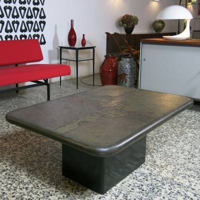 Coffee table from the nineties by Paul Kingma for unknown producer