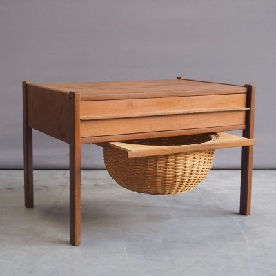 Sewing Table side table from the sixties by unknown designer for unknown producer