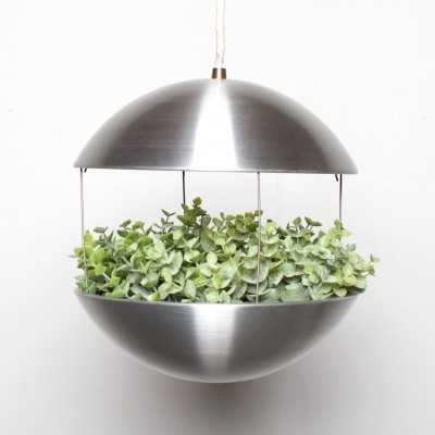 Flowerpot hanging lamp by Poul Cadovius for Hans Følsgaard Belysning, 1960s