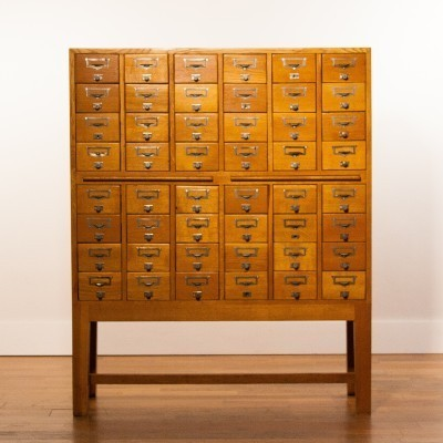 Chest of drawers from the thirties by unknown designer for unknown producer