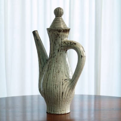 Teapot from the fifties by Jean Derval for Vallauris