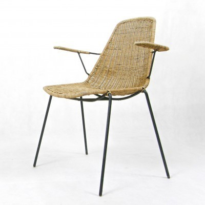 Arm chair by Franco Campo & Carlo Graffi for Home Torino, 1950s