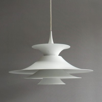 Radius hanging lamp from the seventies by Erik Balslev for Fog & Mørup