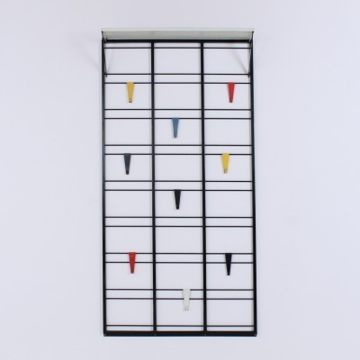 Toonladder coat rack from the fifties by Tjerk Reijenga for Pilastro