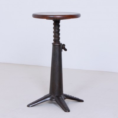 Swivel Sewing stool from the twenties by unknown designer for Singer