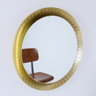 Large Vanity mirror from the fifties by unknown designer for unknown producer