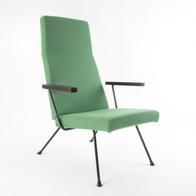 2 model 1410 lounge chairs from the fifties by André Cordemeyer for Gispen