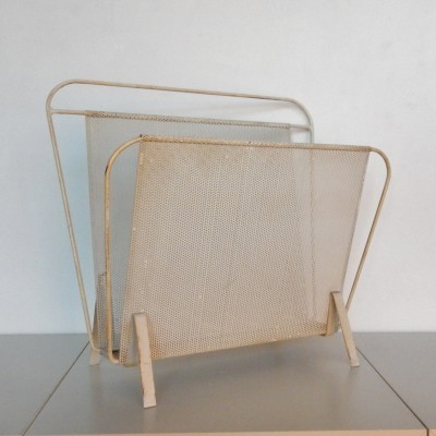 Magazine holder by Mathieu Matégot & Floris H. Fiedeldij for Artimeta, 1950s