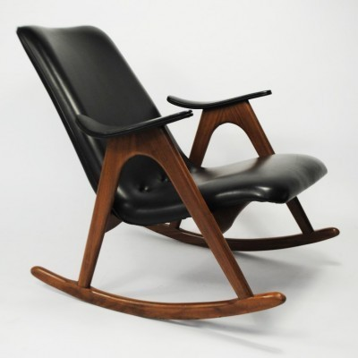 Rocking chair from the sixties by Louis van Teeffelen for Wébé