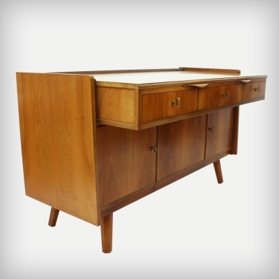 Sideboard writing desk from the fifties by unknown designer for unknown producer