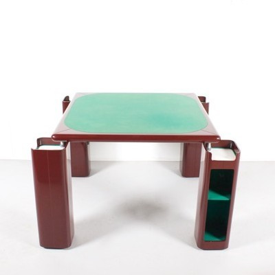 Game / Card Table dining table by Pierluigi Molinari for Pozzi, 1970s