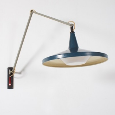 Giso 4050 Panama wall lamp from the fifties by Wim Rietveld for Gispen