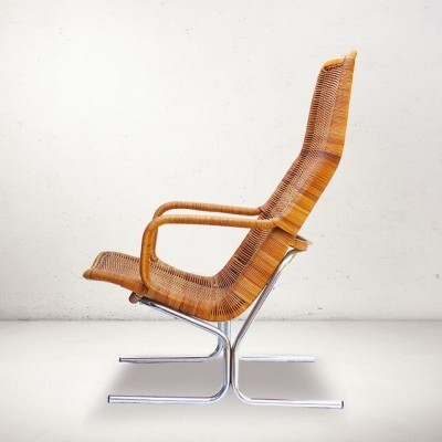 514c lounge chair from the fifties by Dirk van Sliedregt for Gebroeders Jonkers