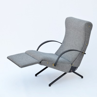 2 P40 lounge chairs from the fifties by Osvaldo Borsani for Tecno