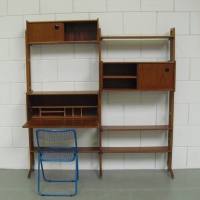 Wall unit from the fifties by unknown designer for Simpla Lux