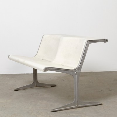 Model 1200 bench from the sixties by Friso Kramer for Wilkhahn
