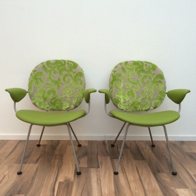 Pair of 302 (Triënnale) lounge chairs by W. Gispen for Kembo, 1950s