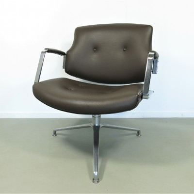 FK-84 office chair from the seventies by Preben Fabricius & Jørgen Kastholm for Kill International