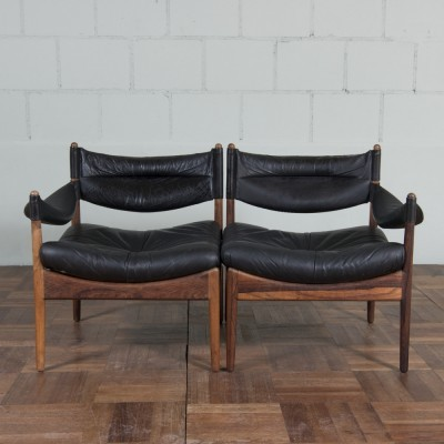 Set of 2 Modus sofas from the sixties by Kristian Vedel for Søren Willadsen